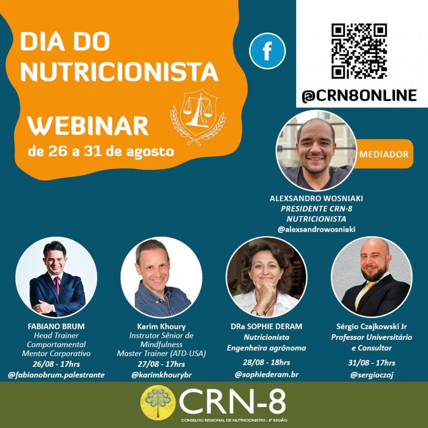 CRN-8 COMEMORA O DIA DO NUTRICIONISTA