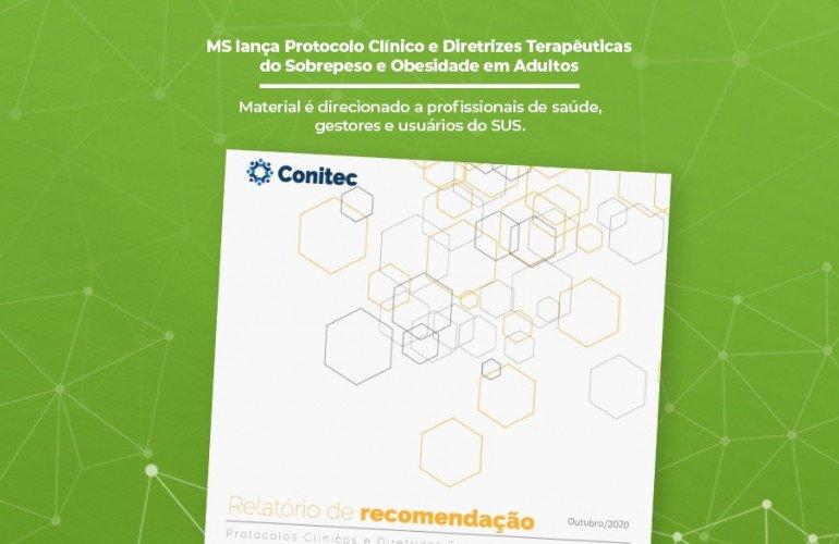 MS lança Protocolo Clínico e Diretrizes Terapêuticas do Sobrepeso e Obesidade em Adultos